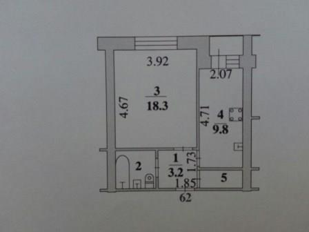 Продажа однокомнатой квартиры в Липецке. ул. Депутатская - Фото 4