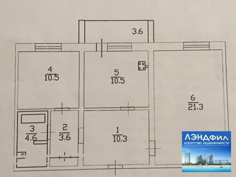 2 комнатная квартира, Северная, д. 8 - Фото 4