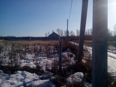 Шарапово с, Чеховский район 68 км от МКАД, участок 12,5 соток. - Фото 2