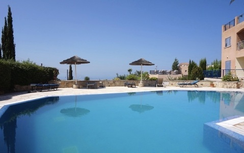 Трехкомнатный апартамент с фантастическим видом на море в Пафосе - Фото 2