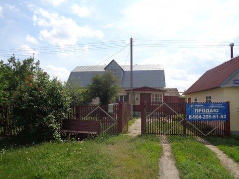 Дом: Липецкая обл, Грязинский р-н, с.Плеханово, Плеханова улица, 138 - Фото 1