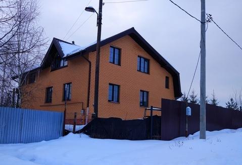 Коттедж 246 кв. м. д. Бараново ясногорский р-н Тульская область - Фото 1