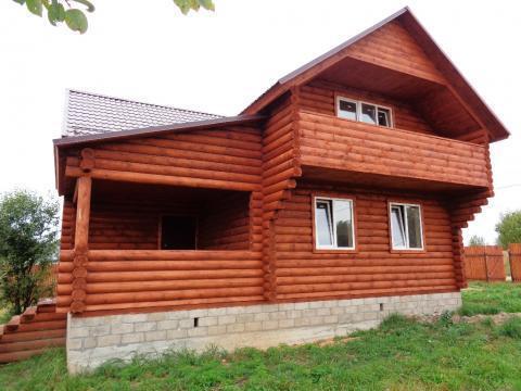Продается новый дом с коммуникациями и газом в жилой деревне - Фото 3