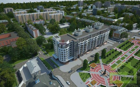 """Двухкомнатная квартира в ЖК """"Империал"""" Белгород - Фото 4"""