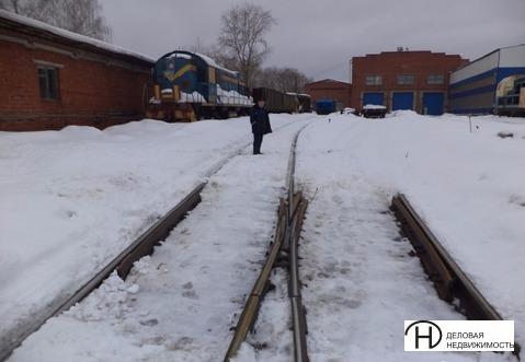 Продам производственное помещение с жд путями в Ижевске - Фото 1