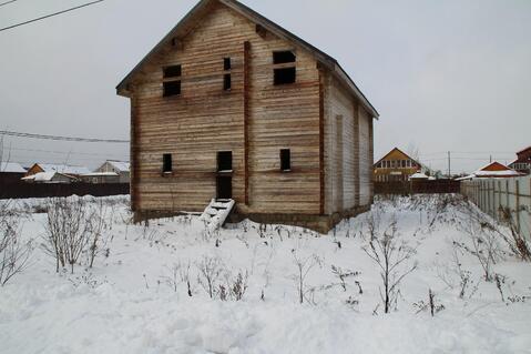Недостроенный брусовой дом на участке 15 соток в ДПК Колосок - Фото 4