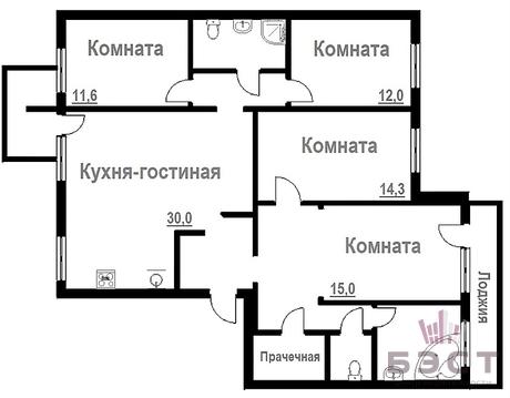 Квартиры, ул. Крестинского, д.31 - Фото 1