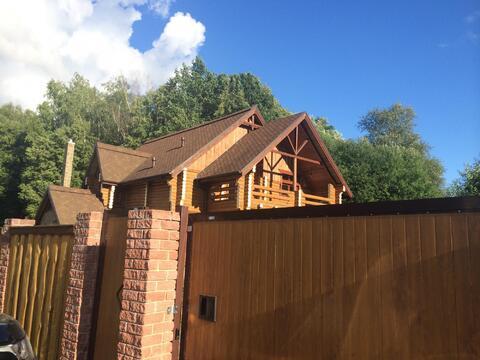Жилой дом с отделкой под ключ в лесу. Калужское ш. 27 км - Фото 2