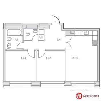Продам 2 комнатную квартиру в ЗАО