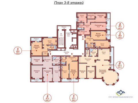 Продам однокомнатную квартиру Елькина 88 А, 53 кв.м - Фото 2