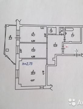Шикарная 2 к крупногабаритная квартира Северный - Фото 1