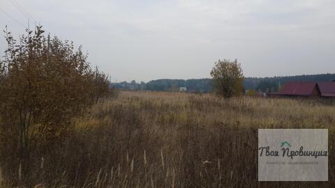 Участок 10 соток с лесными видами в деревне Протасово Ступинского р-на - Фото 4