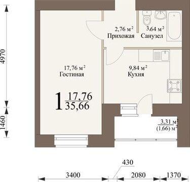 Продажа квартиры, Засечное, Пензенский район - Фото 4