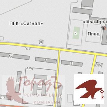Гаражи и стоянки, ул. Игнатова, д.4 - Фото 1