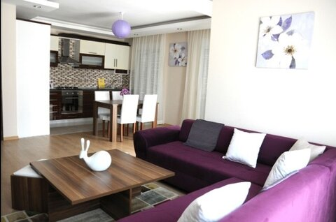Анталия Лиман Golden Park 1 этаж 95 метров бассейн паркинг с мебелью - Фото 2