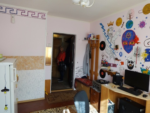 Продам комнату в двухкомнатном блоке Пскова - Фото 2
