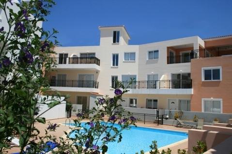 Отличный двухкомнатный Апартамент недалеко от моря в Пафосе - Фото 1