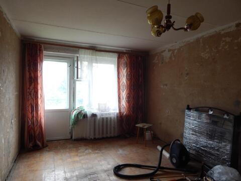 1 комнатная квартира 34,3 кв.м. в г.Руза под отделку. - Фото 1