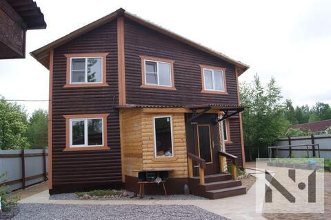 Двухэтажный дом 160 м2 из бруса на участке 6.7 соток - Фото 3