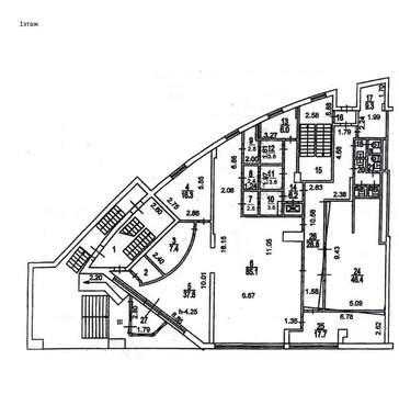 Офис 1450 кв.м, - Фото 2