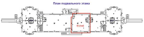 Подвальное помещение 98 м2 на ул. Парковая, 16 - Фото 2