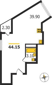 Жилой дом на ул. Кулибина, Владимир, Кулибина ул, д.14, Квартира на . - Фото 1