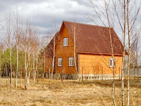 Продаю новый зимний дом в деревне, 98 км от МКАД по Ярославскому ш. - Фото 1