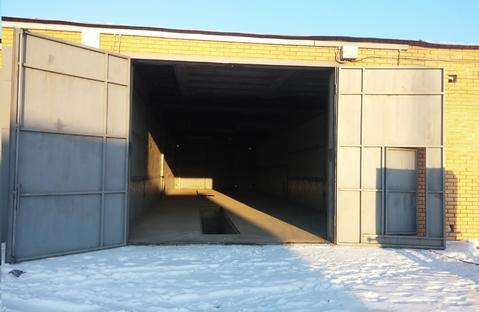Продам гараж под грузовое авто 7х12м г.Сосновоборск напротив ул.Юности
