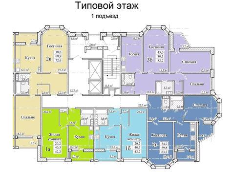 Объявление №50806084: Квартира 1 комн. Тамбов, ул. Магистральная, стр. 39, корп. 1,