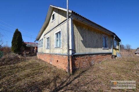 Деревянный дом с участком 19 сот. в д.Шишкино 95 км от МКАД - Фото 1