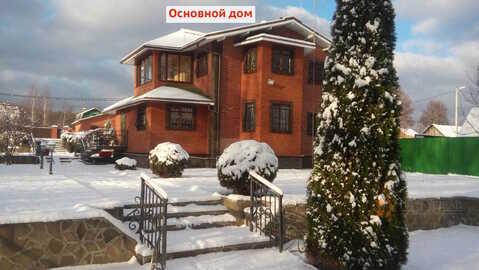 Сдам на Новогодние каникулы статусный дом с тремя строениями 215 кв.м - Фото 1