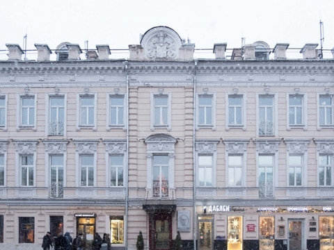 Продажа офиса, м. Кропоткинская, Ул. Волхонка - Фото 1
