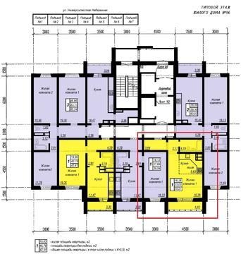 Квартира-студия 35м в Академ Риверсайд за 1200.000