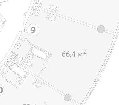 Балаклавский проспект 16 2комн 66,4м - Фото 3
