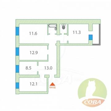 Продажа квартиры, Ялуторовск, Ялуторовский район, Ул. Тюменская - Фото 1