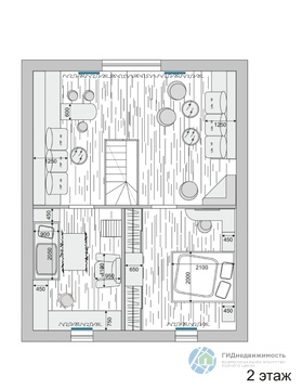 Зимний коттедж с гостевым домом и гаражом - Фото 3