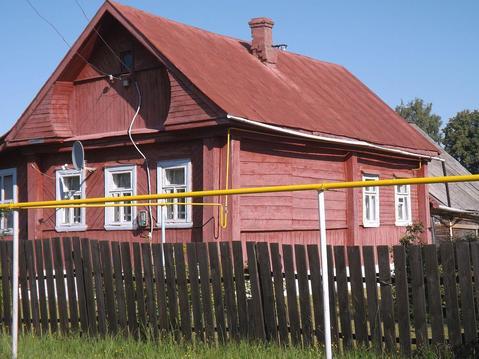 Бревенчатый дом с г/о в пос. Савино Ивановской области - Фото 1