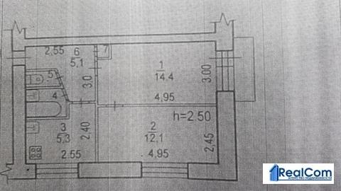 Продам двухкомнатную квартиру, ул. Орджоникидзе, 10в - Фото 2