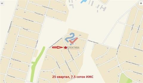 Участок в Нагаево, 7.5 сот.(ИЖС), 25 квартал - Фото 5