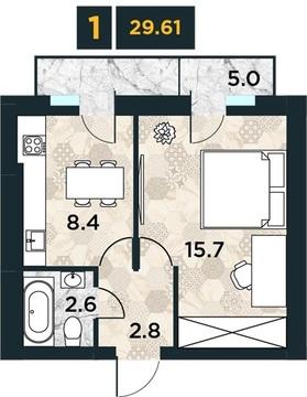 Объявление №48513225: Квартира 1 комн. Калининград, ул. А.Суворова, 35,