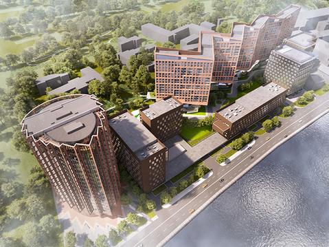 Проект строительства комплекса апартаментов. - Фото 1