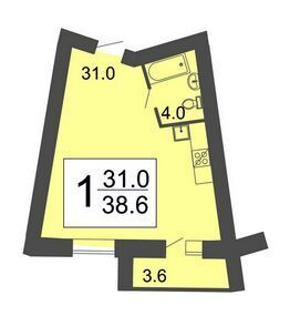 Продажа квартиры, Засечное, Пензенский район, Улица Фонтанная - Фото 2