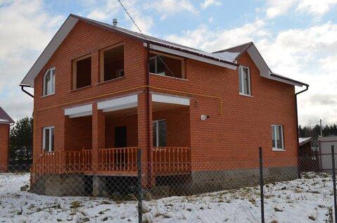 2х этажный кирпичный Дом 200м2 д. Шубинка, газ, 5км до г Малоярославец - Фото 1