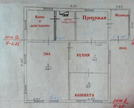 Дом 56 кв.м. в Щербакуле - Фото 4