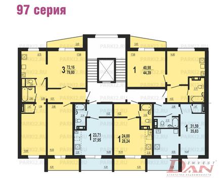Квартиры, ул. Братьев Кашириных, д.113 - Фото 2