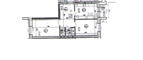 Продается 2 комнатная квартира общая площадь 76 кв.м, комнаты 16,8 и . - Фото 3