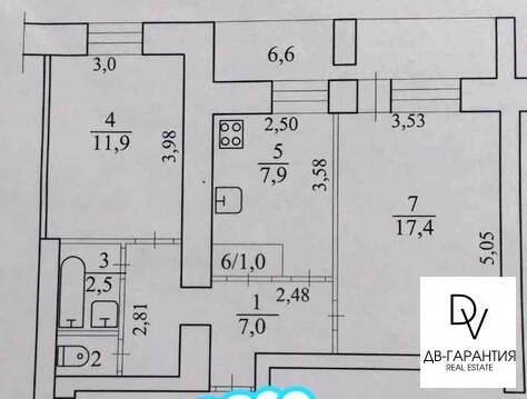 Продажа квартиры, Комсомольск-на-Амуре, Ул. Дзержинского - Фото 1