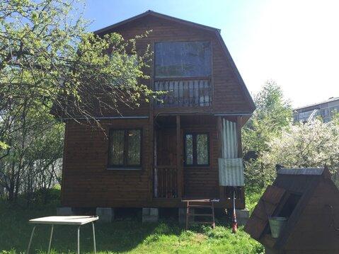 Продам дом 55 кв.м, 8соток ПМЖ с.Ильинское, мкрн.Барыбино - Фото 1
