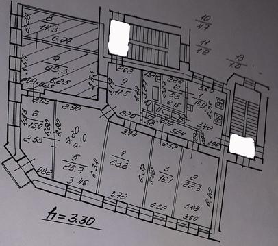 2 смежные комнаты площадью 41.7 кв.м. ул. 10-я Советская, дом 21 - Фото 2