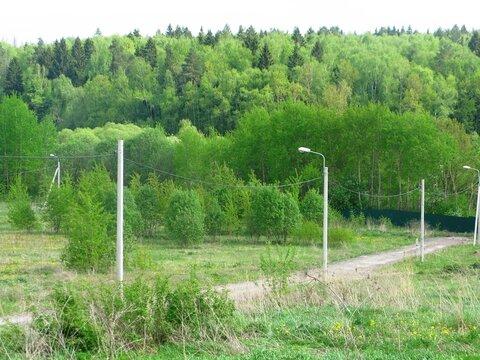 Участок 12,3 соток вблизи деревни Шаганино - Фото 1
